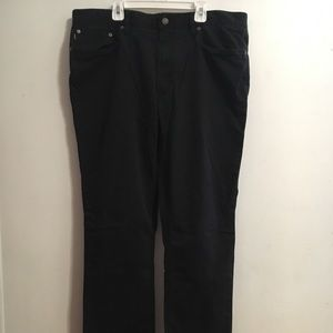 Black Ralph Lauren Polo Pants